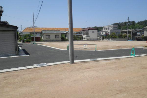 新潟市西区浦山3 宅地造成