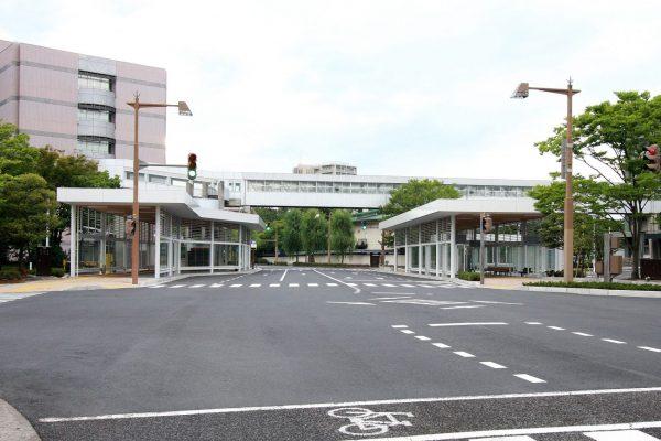 新潟市役所 本館 分館 ターミナル上屋