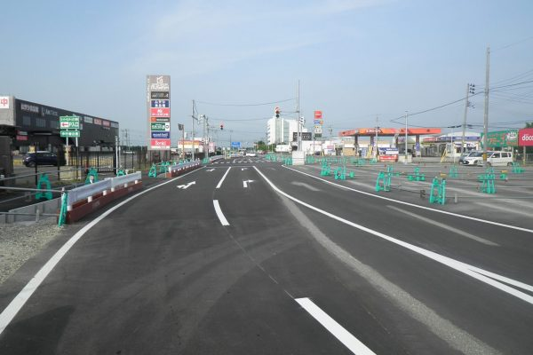 市道嘉瀬蔵岡線道路改良(その2)
