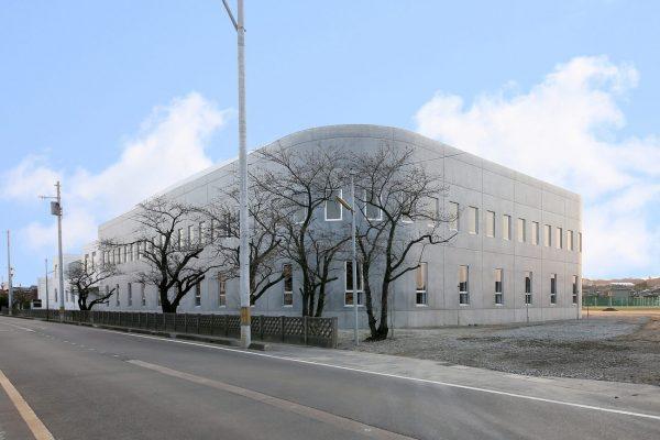 新潟市立新津第一中学校屋内体育館