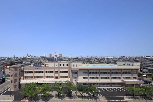 新潟市立木戸小学校校舎2期改築工事
